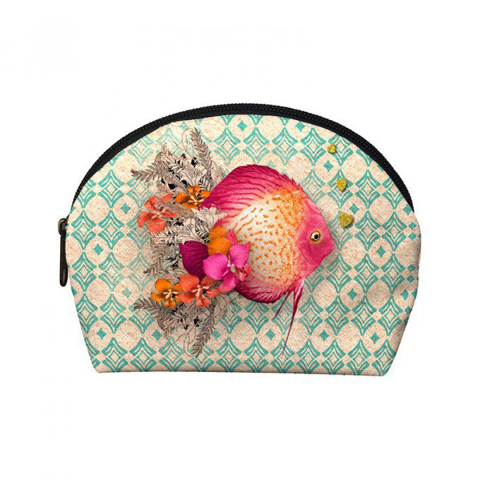 Trousse à maquillage Poisson Discus
