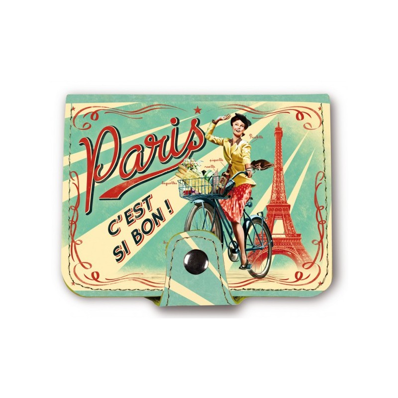 Porte carte Paris - Natives