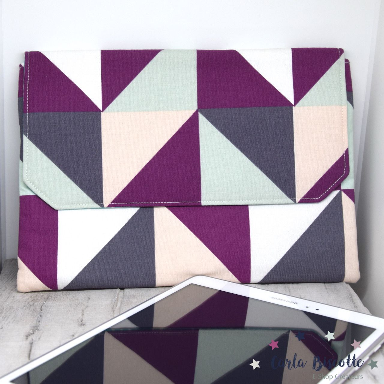 Housse pour tablette tactile Triangles